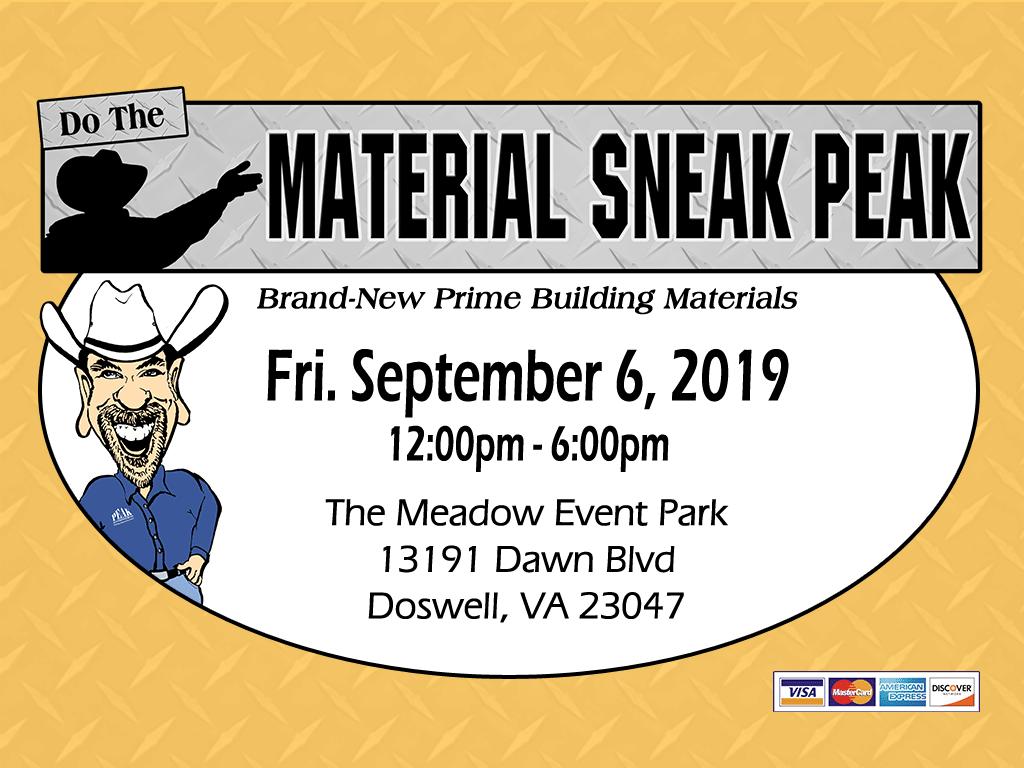Virginia Building Material Auction - Sneak Peak