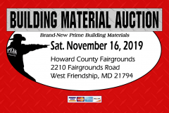 Baltimore Building Material Auction