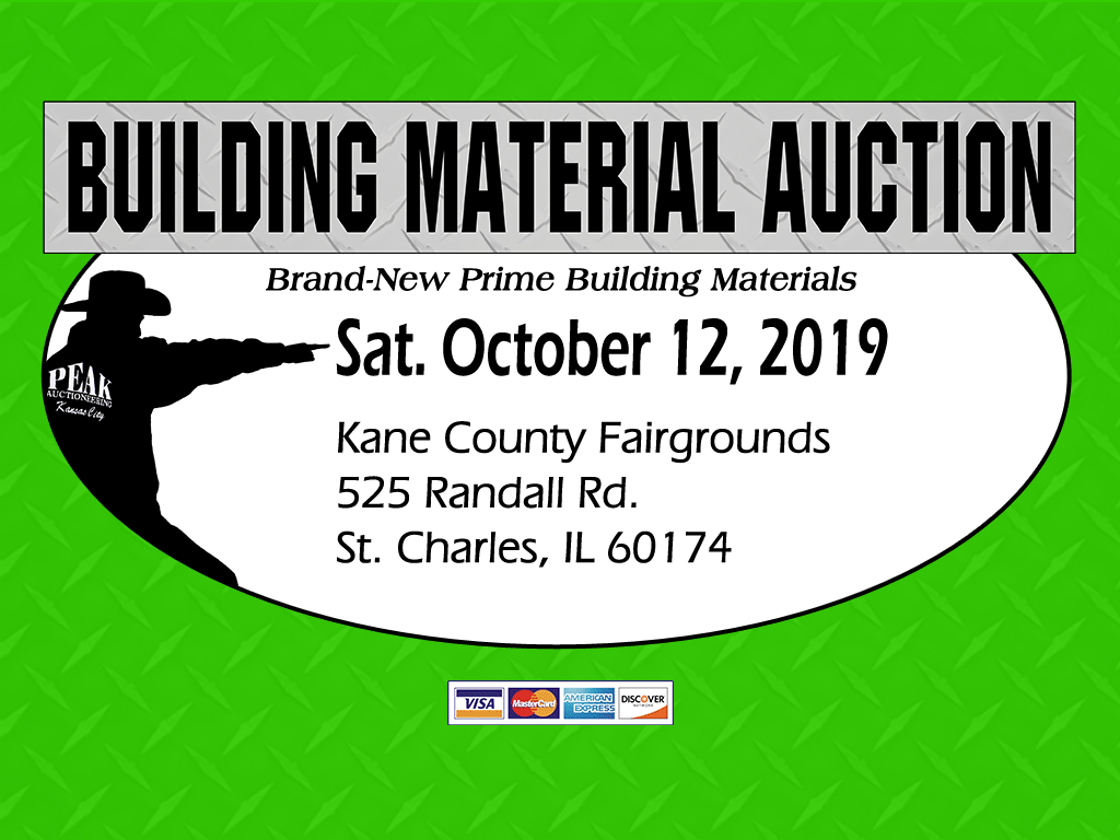 Chicago Building Material Auction