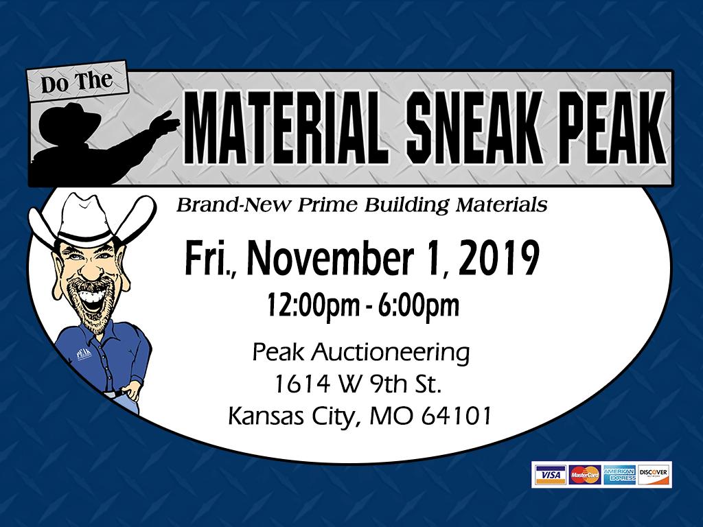 Kansas City Building Material Auction Sneak Peak