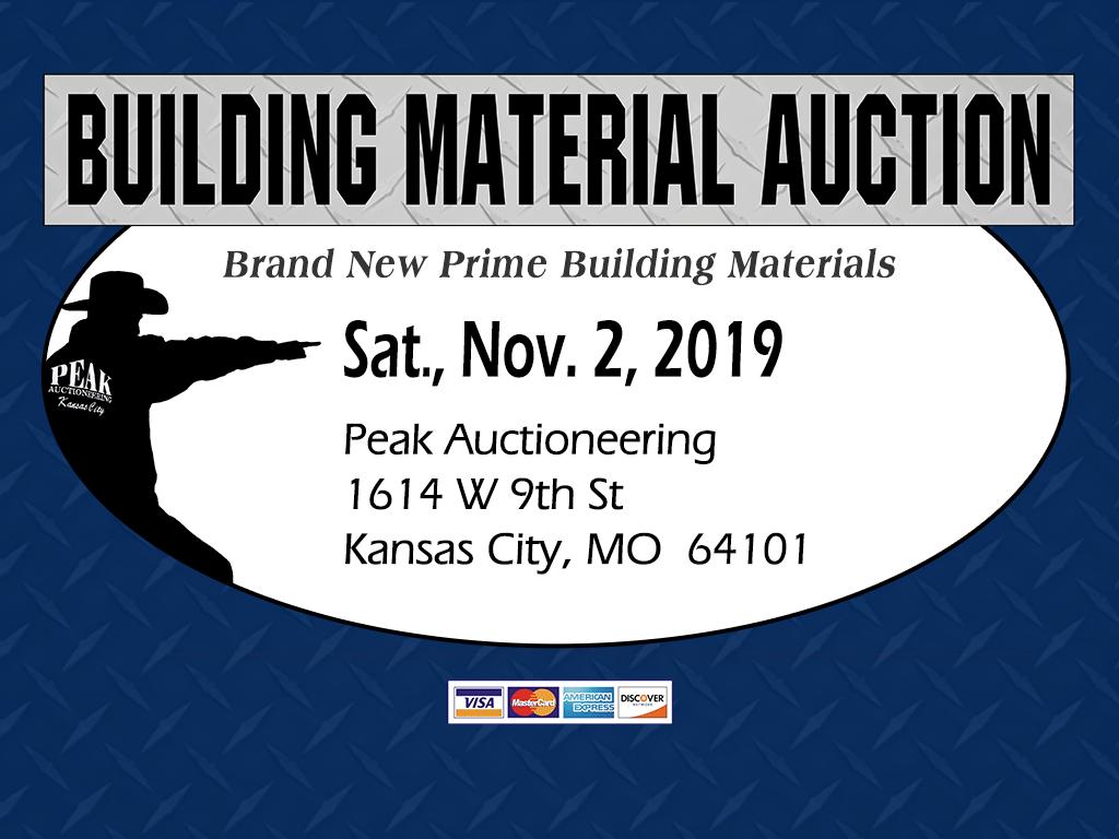 Kansas City Building Material Auction