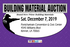 New Orleans Building Material Auction