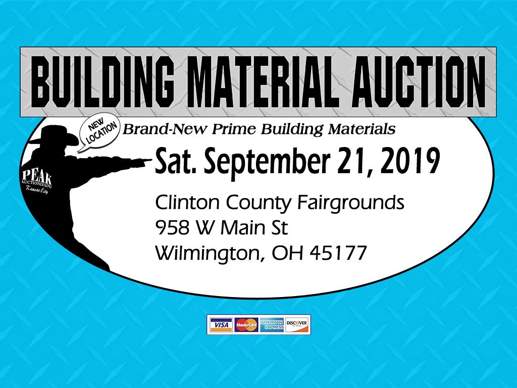 Ohio Building Material Auction
