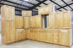 Danmark Mocha Kitchen Cabinet Set