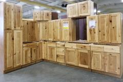 Knotty Hickory  Kitchen Cabinet Set