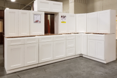 Shaker White Kitchen Cabinet Set