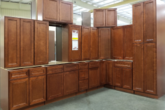 York Cherry Kitchen Cabinet Set
