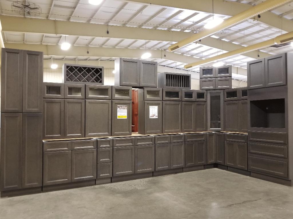 West Point Grey Kitchen Cabinet Set