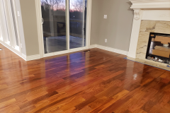 Peak Auction Brazilian Cherry Hardwood Flooring