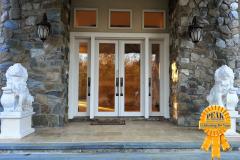 Peak Auction  Exterior Front Door