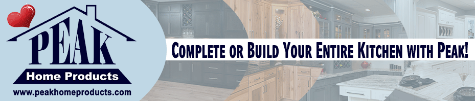 Complete or Build Your Entire Kitchen with Peak!