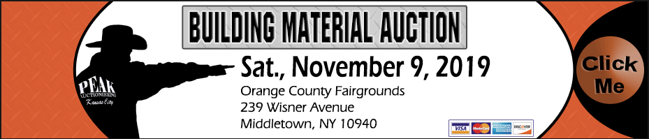New York Building Material Auction